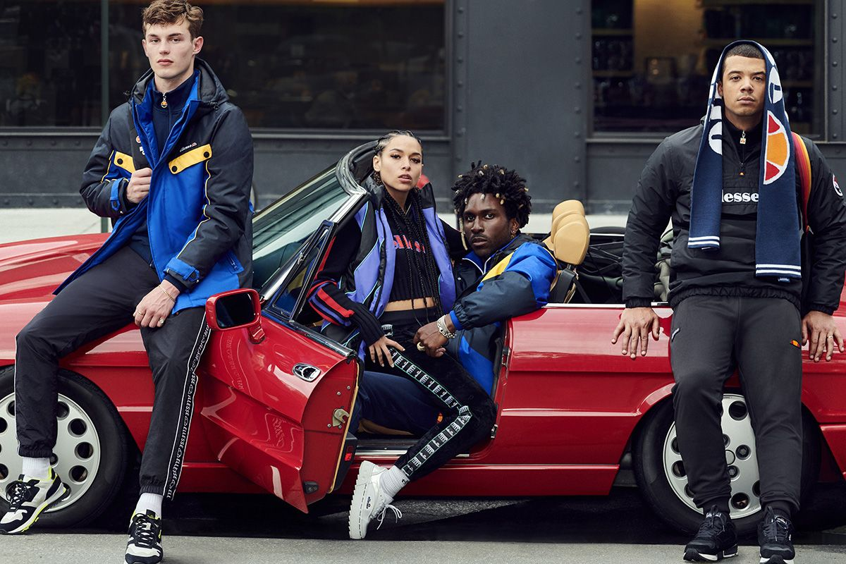 "Princess Nokia & Saint Jhn Star in ellesse's FW19 ""For the Win"" Campaign"