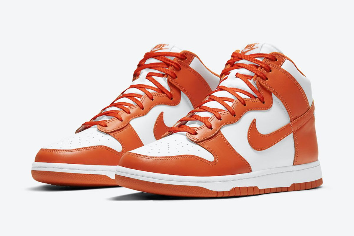 "Nike Is Bringing Back the Classic ""Syracuse"" Dunk High"