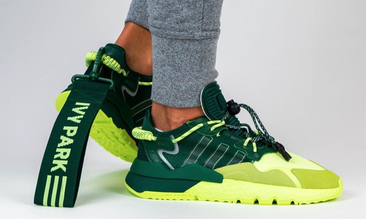 """Ivy Park x adidas Nite Jogger """"Frozen Yellow"""": First Look & Info"""