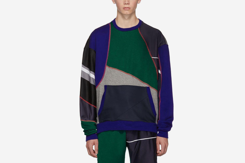 Patchwork Sweatshirt