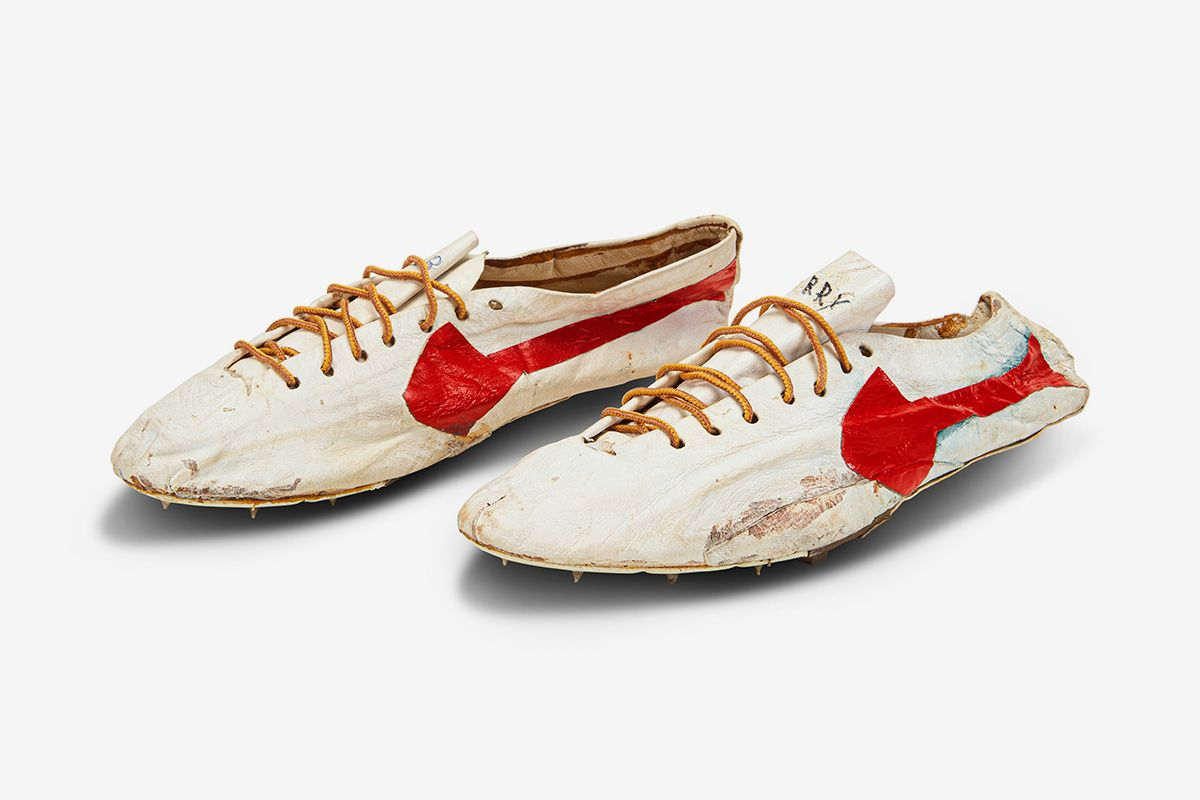 bill bowerman track spikes sothebys olympic auction 01