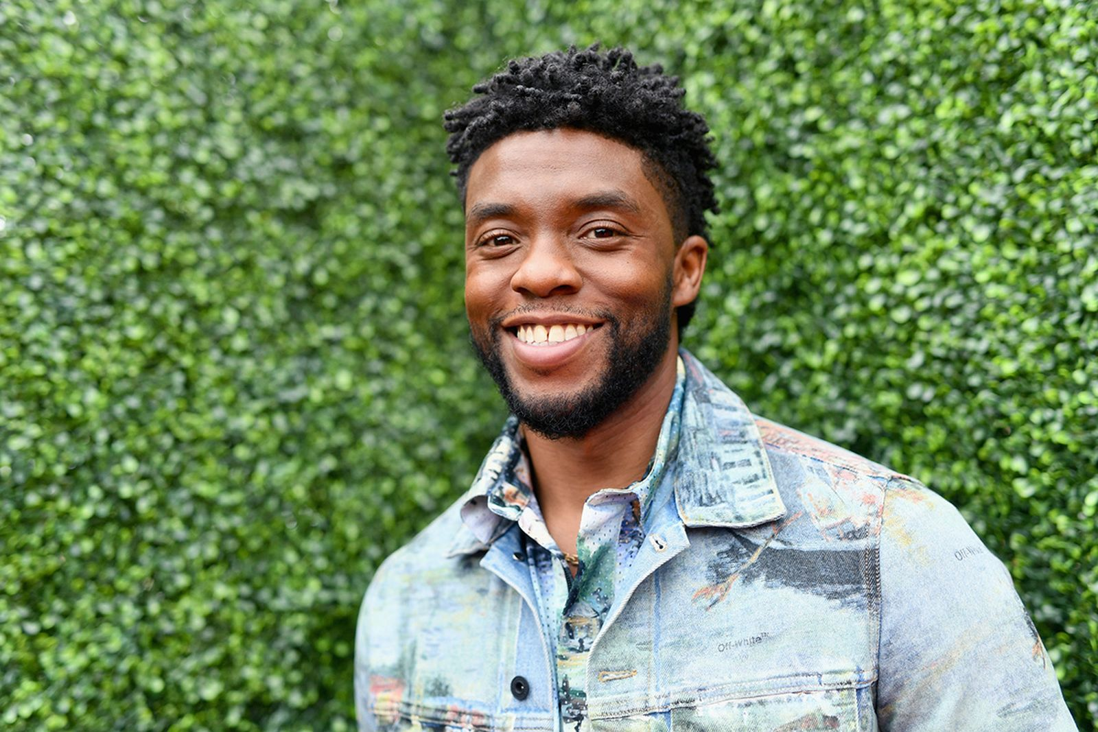 Chadwick Boseman attends the 2018 MTV Movie And TV Awards