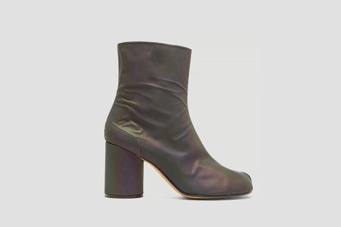 Reflective Tabi Boots