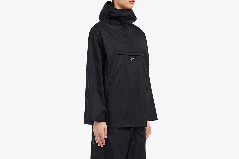 Nylon Gabardine Anorak Jacket