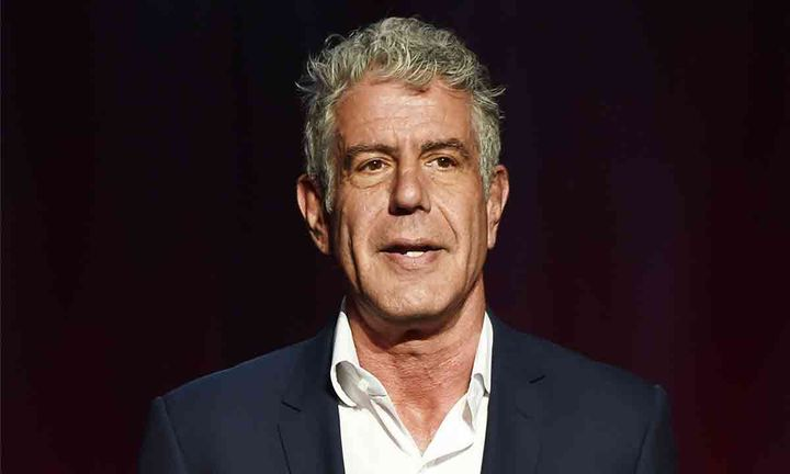 Anthony Bourdain suit