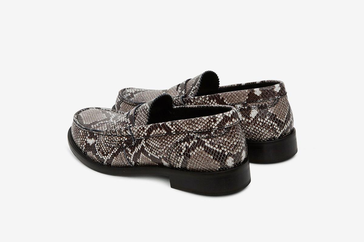 Python Loafers Grey