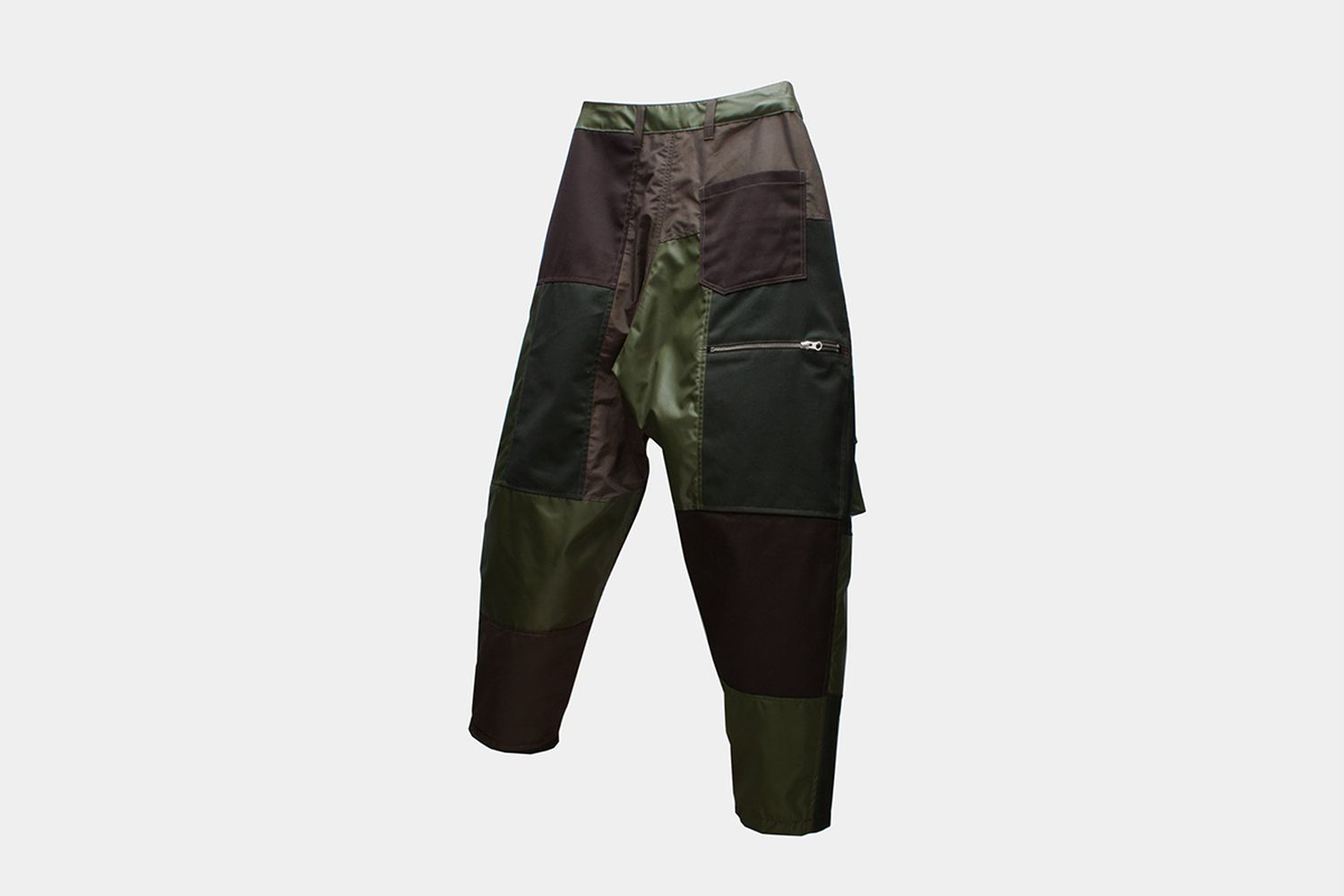 Dislocated Patchwork Pants