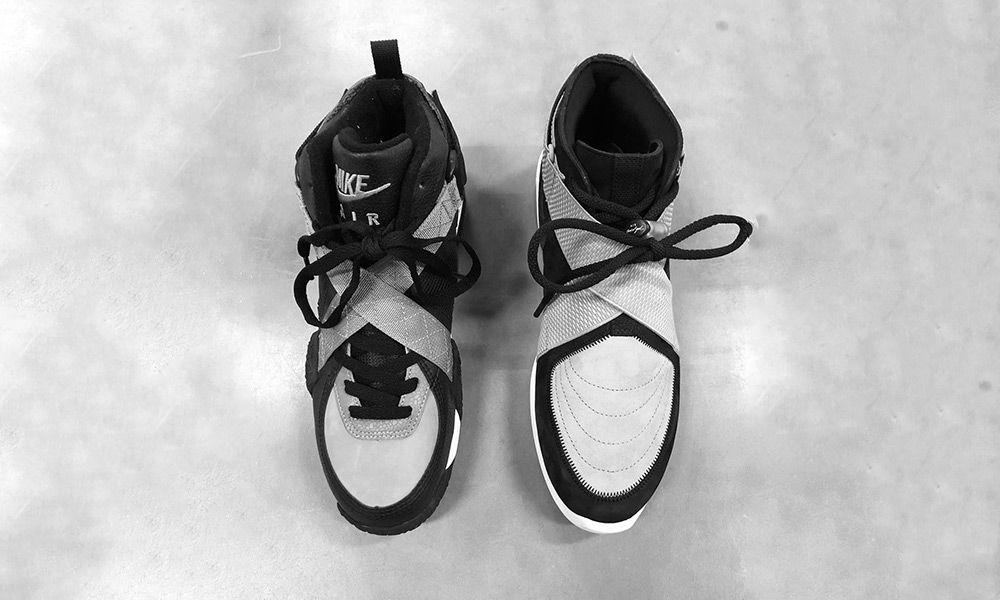 big sale 9efec ad63f Jerry Lorenzo Teases a Nike Air Fear of God 180 in Grey Black