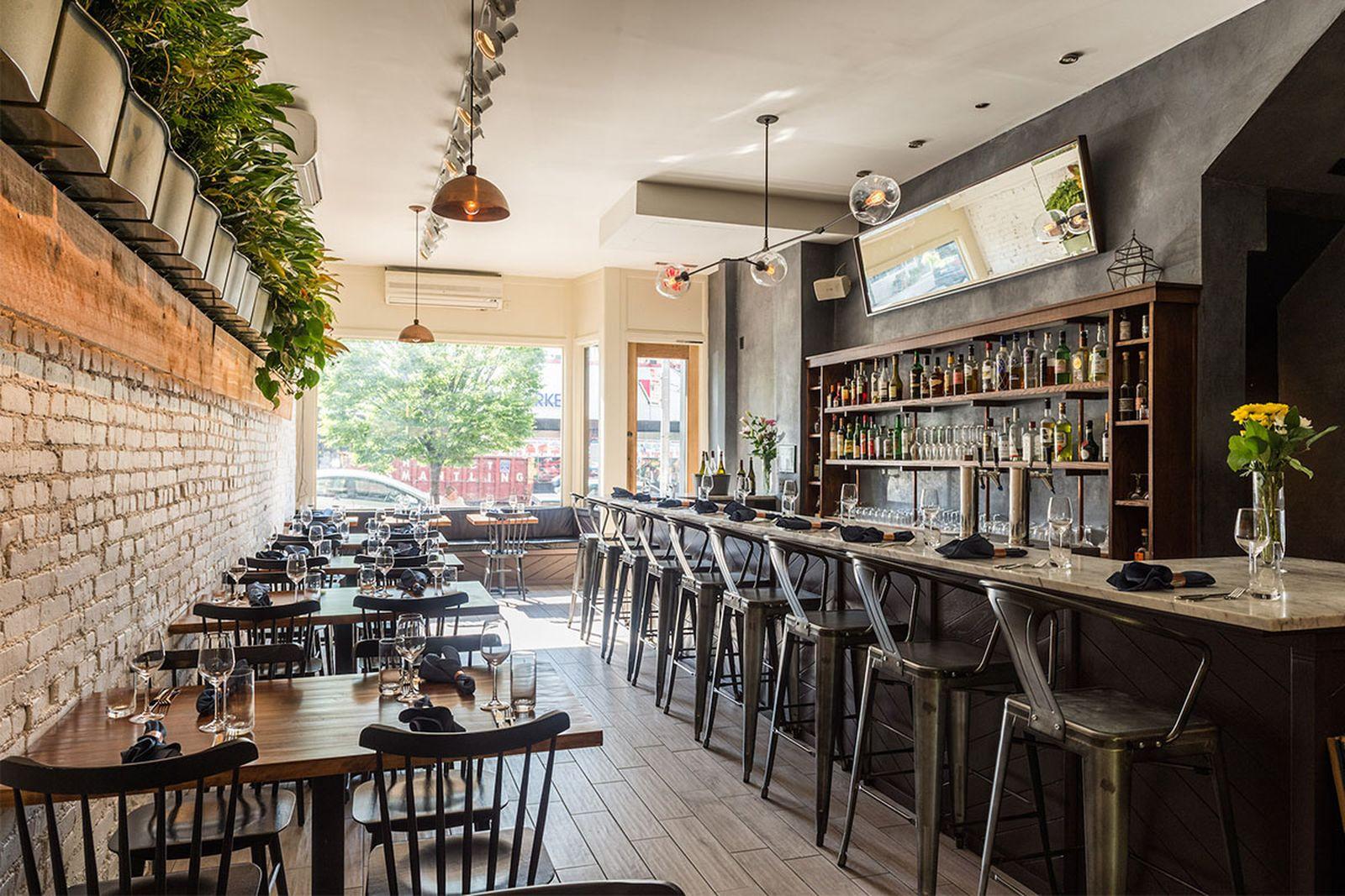 new york mid range restaurants olmsted AMEX american express platinum food & drink