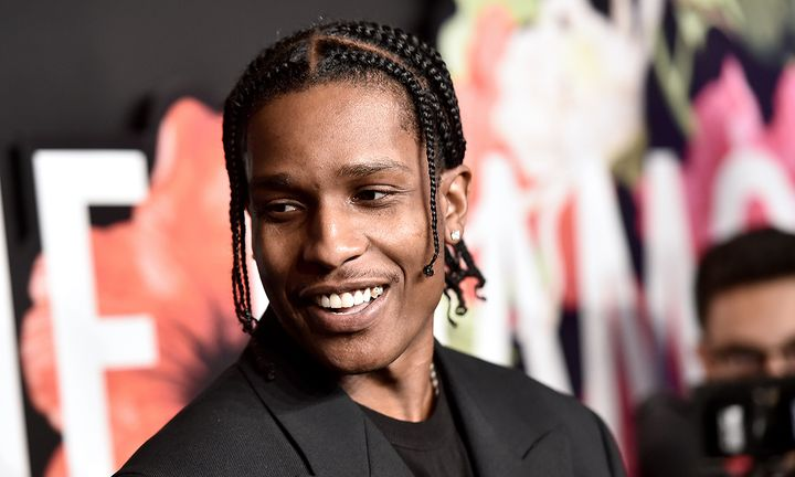 A$AP Rocky attends Rihanna's 5th Annual Diamond Ball