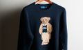 Ralph Lauren's Collegiate Bear Appears on a Sweater for the First Time Ever