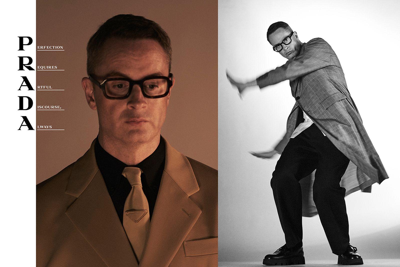 Nicolas Winding Refn Prada SS20 menswear campaign