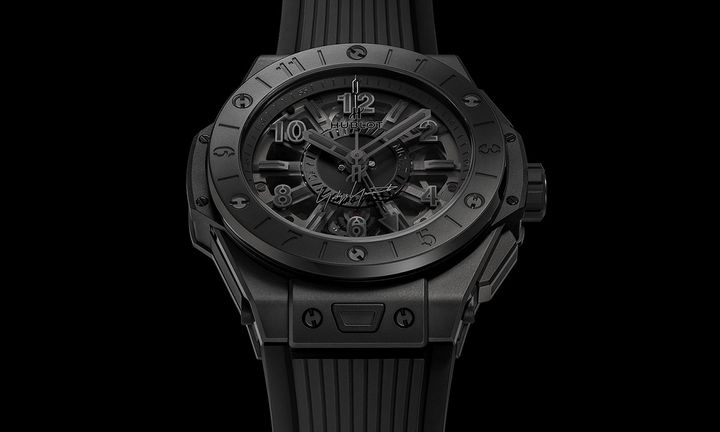 Yohji Yamamoto x Hublot Big Bang GMT All Black Watch