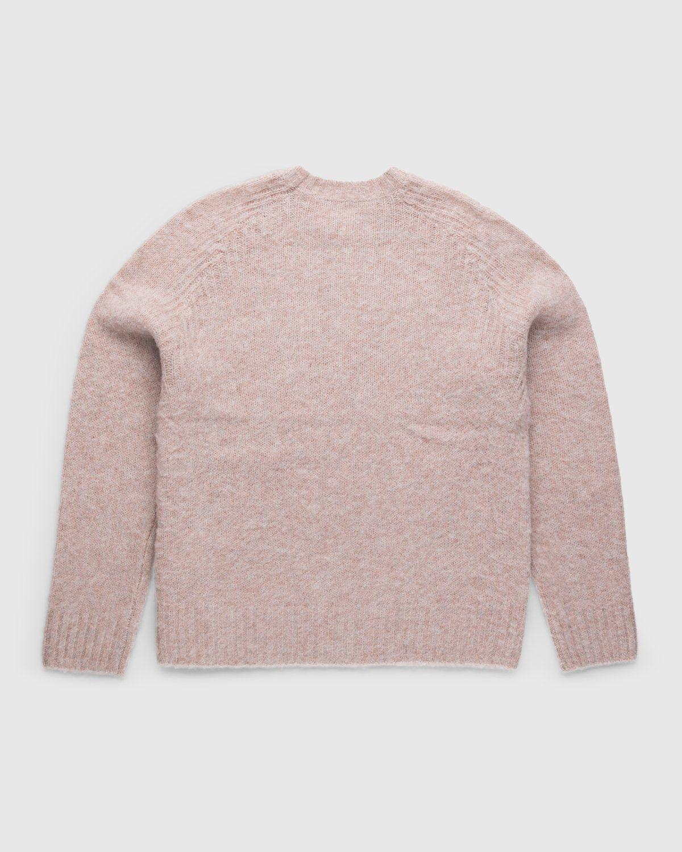 Acne Studios – Knit Sweater Pastel Pink - Image 2