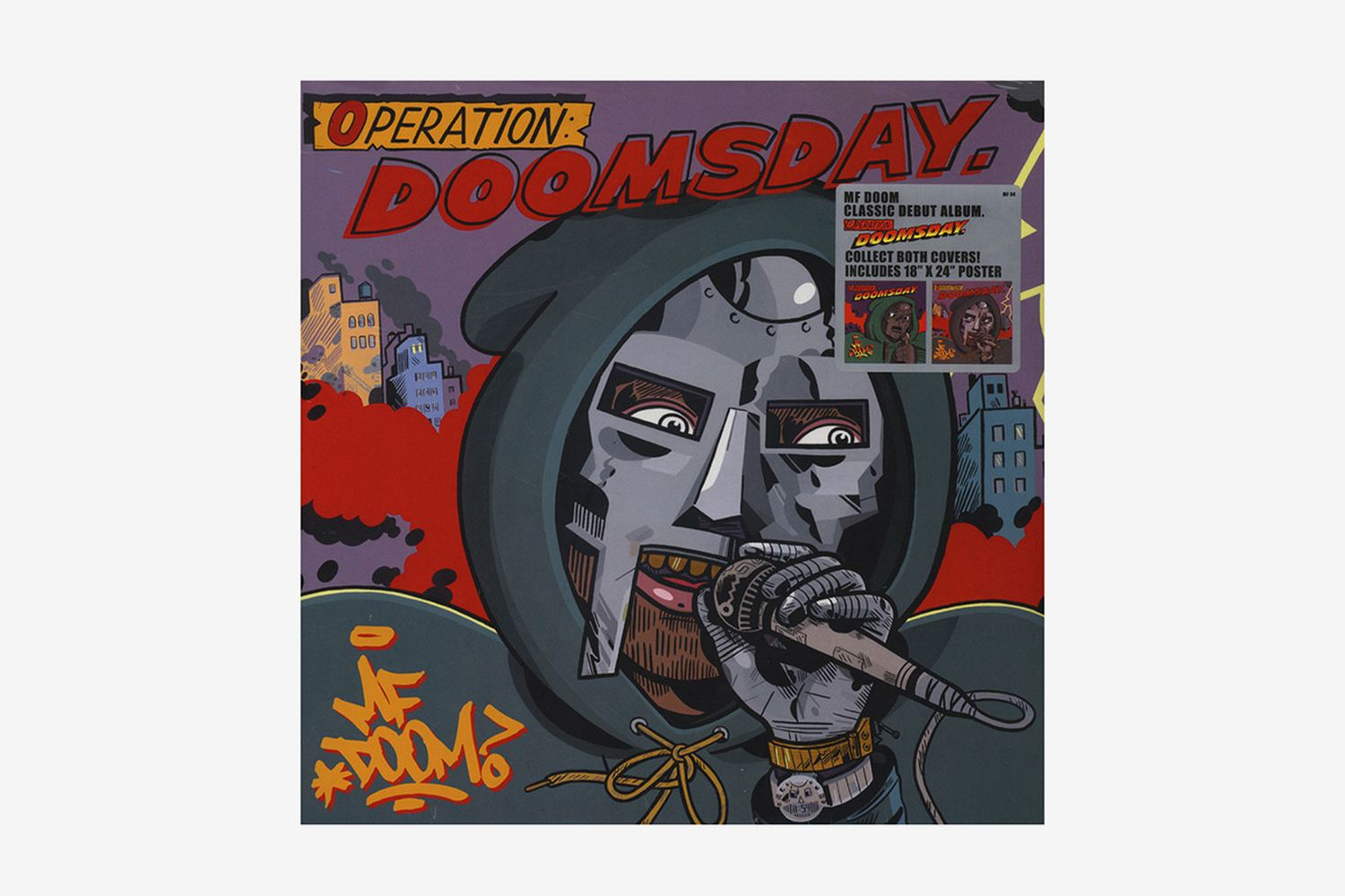 Operation: Doomsday Metal Face Cover Edition