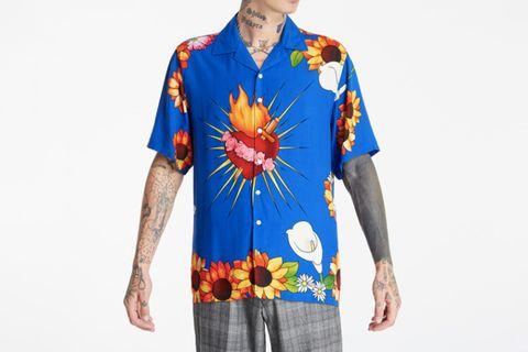 Heart Button-Down Shirt