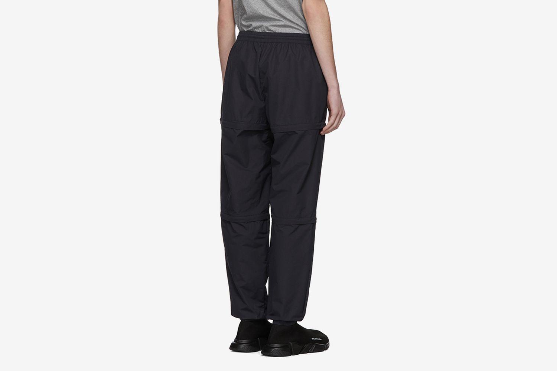 Nylon Zipped Track Pants