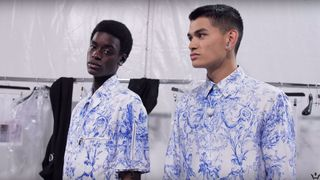 paris fashion week ss20 day 4 video daniel arsham dior miguel
