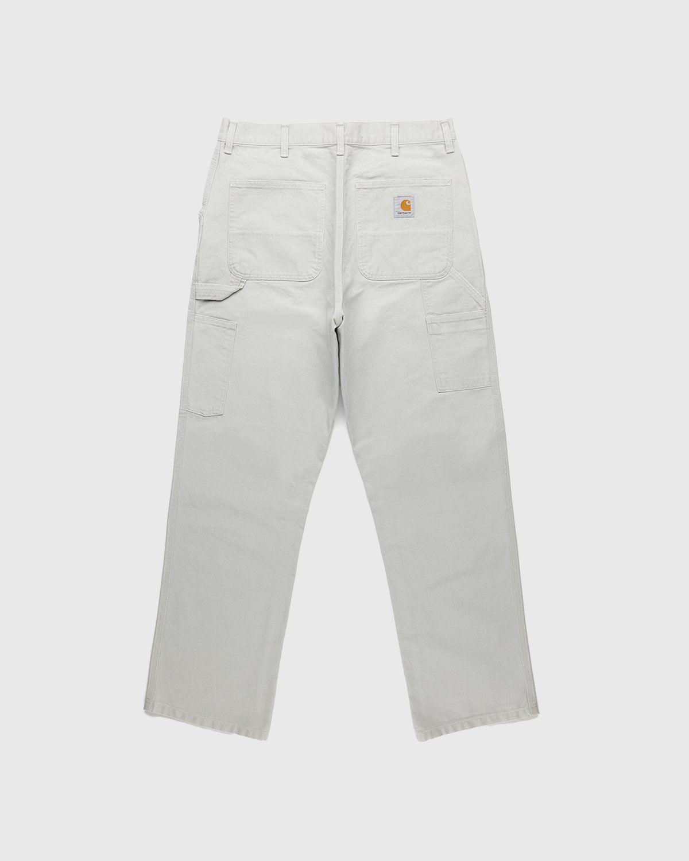 Carhartt WIP – Single Knee Pant Aged Canvas Grey - Image 2