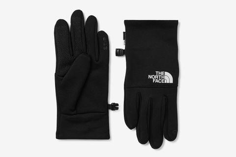 Etip Logo-Print Ponte Gloves