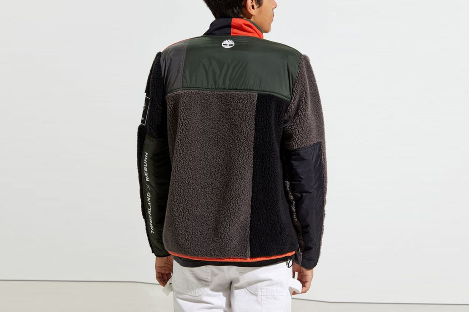 Full-Zip Sherpa Fleece Jacket