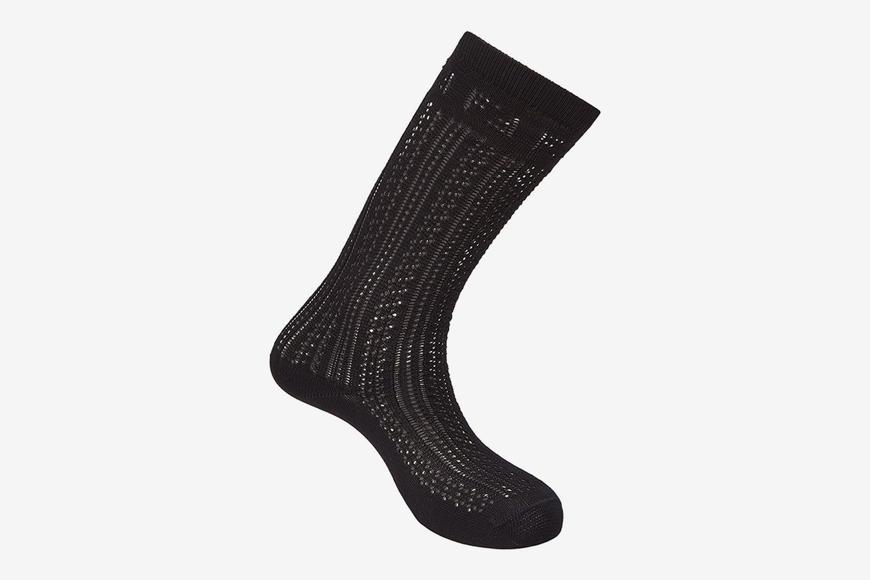 Open-Knit Socks