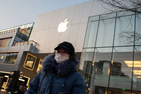 Apple closes stores in China due to Coronavirus