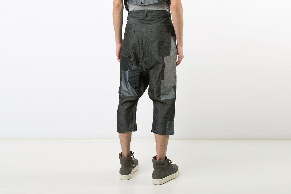 Patchwork Pants