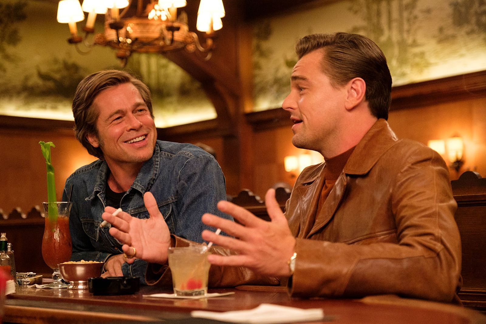 once upon a time in hollywood brad pitt leonardo dicaprio quentin tarantino