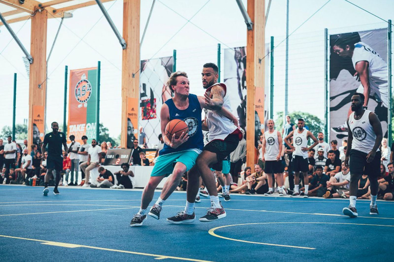 adidas streetball tour berlin kristaps porzingis adidas Harden Vol. 2 kickz nba
