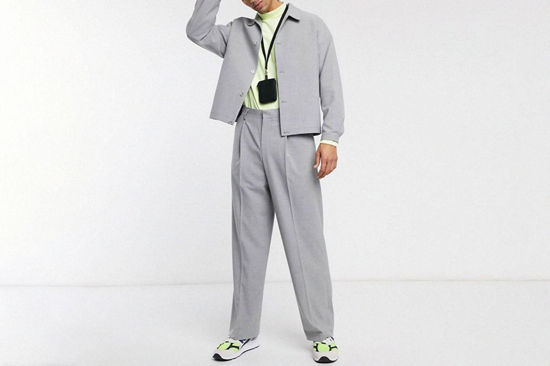 Boxy Suit Jacket