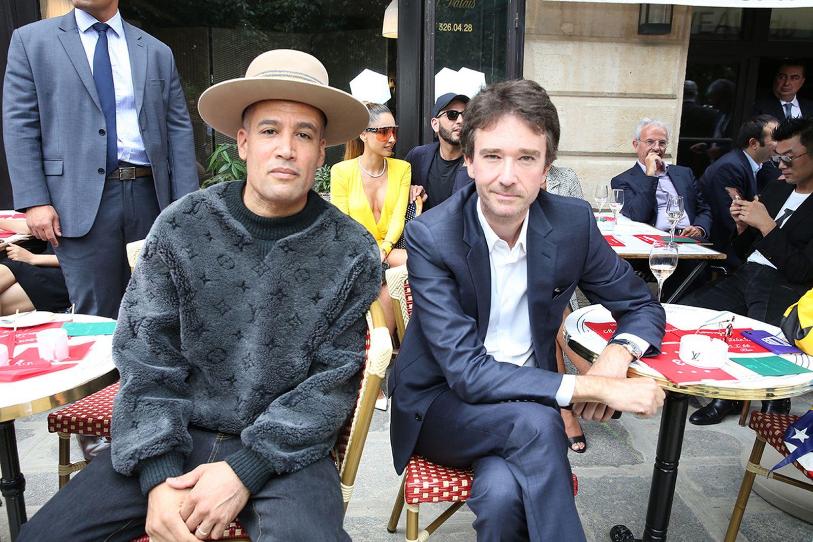 louis vuitton ss20 show celebrity roundup paris fashion week virgil abloh