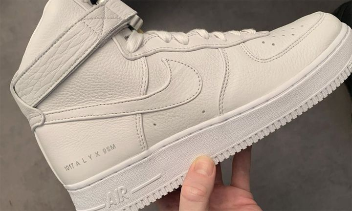 1017 ALYX 9SM Nike Air Force 1 white