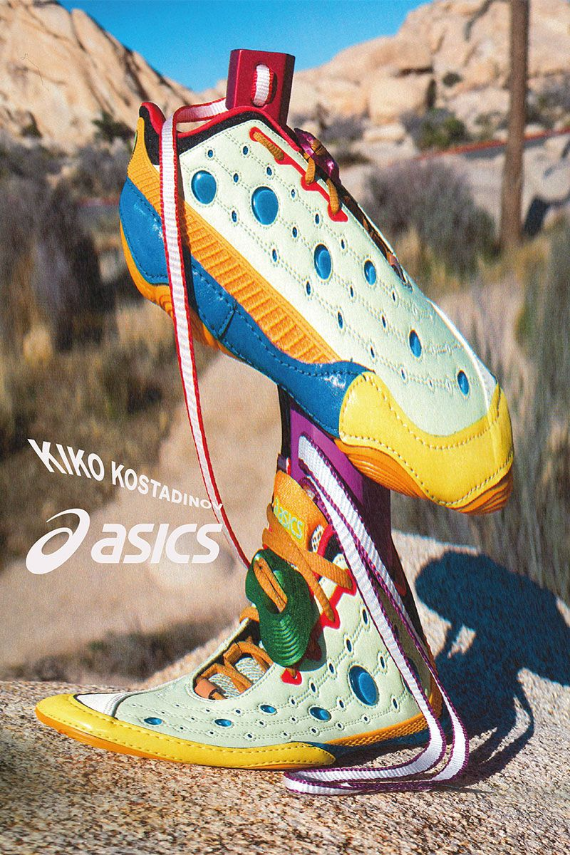 Kiko Kostadinov & ASICS Unveil Their Funkiest Collab Yet 3