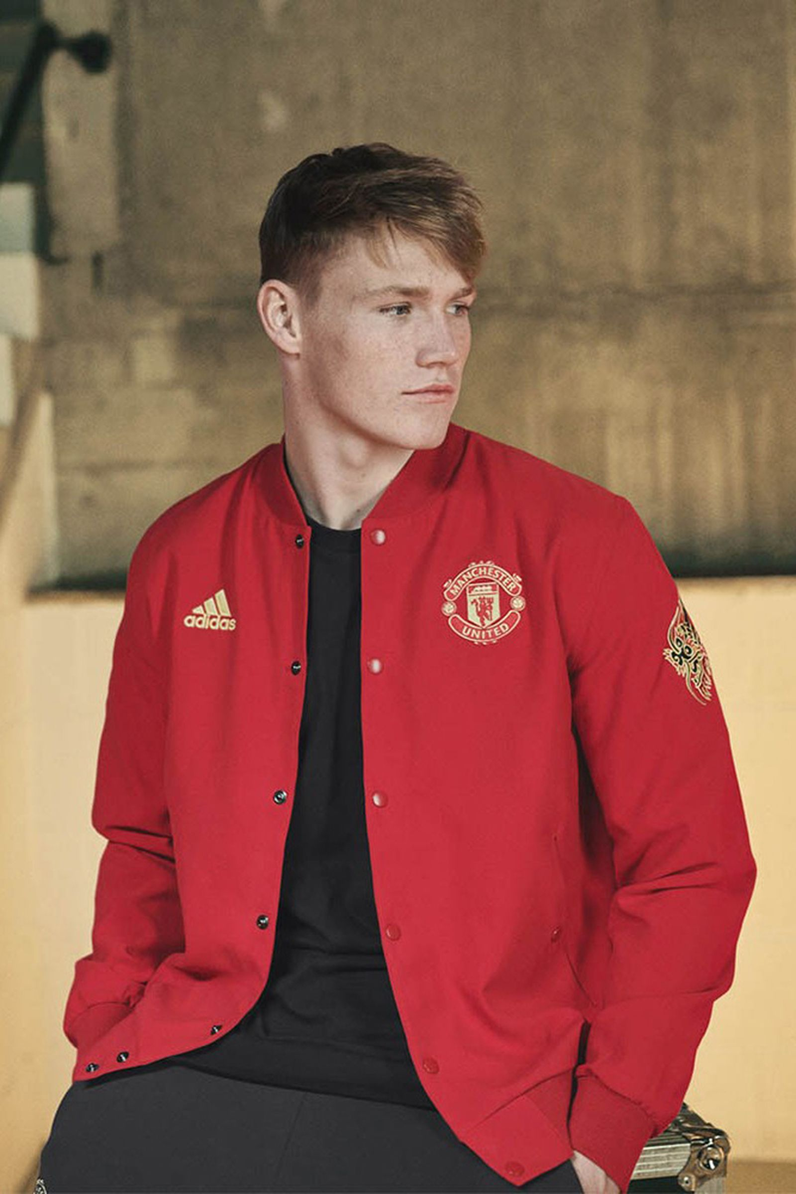 Adidas Debuts Manchester United Chinese New Year Kit