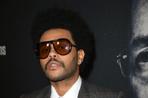 The Weeknd mustache sunglasses