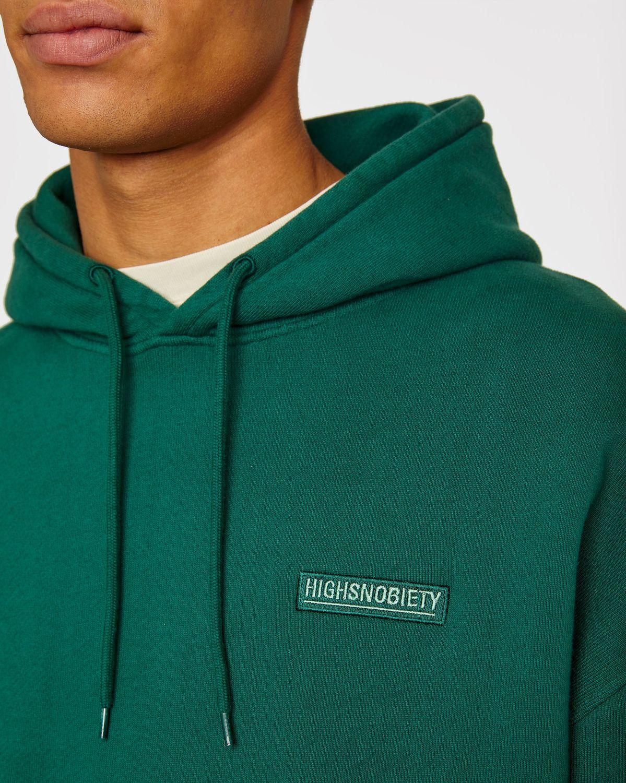Highsnobiety Staples — Hoodie Green - Image 5