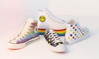 Converse Debuts Pride Collection Designed by Miley Cyrus