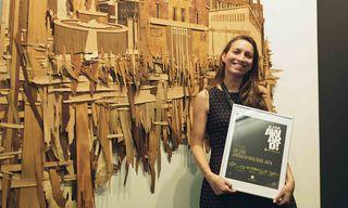 Liat Livni Wins the International BLOOOM Award by WARSTEINER