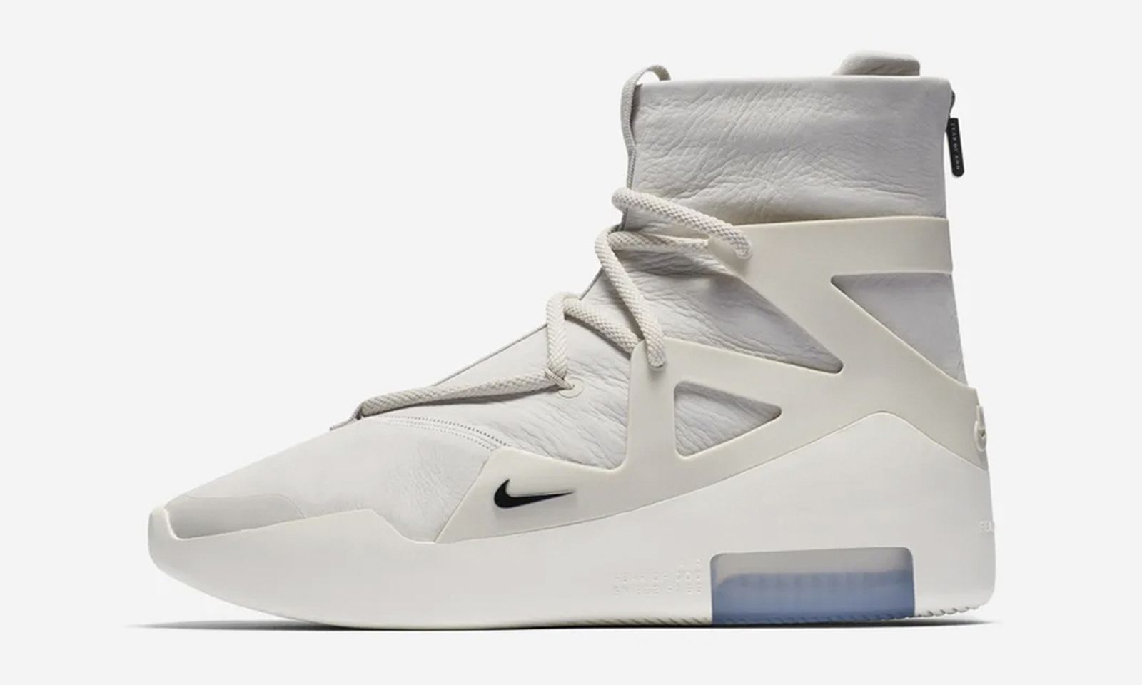 nike air fear of god 1 release date price light bone comments Jerry Lorenzo OFF-WHITE c/o Virgil Abloh Raf Simons