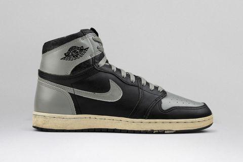 "separation shoes f8c80 f1ced Nike Air Jordan 1 Black Gray (""Shadow"")"