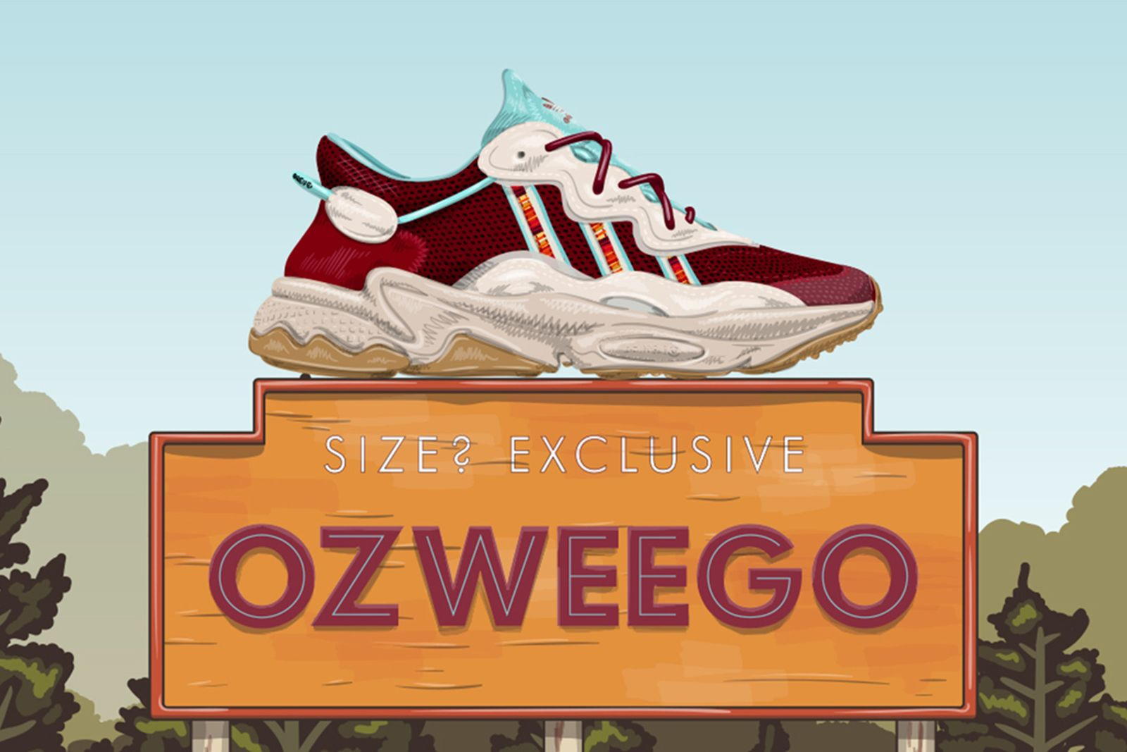 adidas ozweego size exclusive release date price