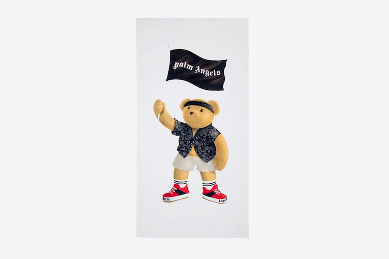 Pirate Bear Cotton Towel
