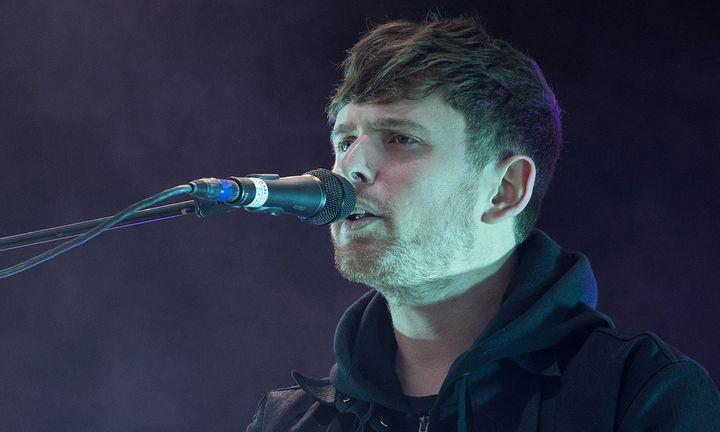 James Blake performing