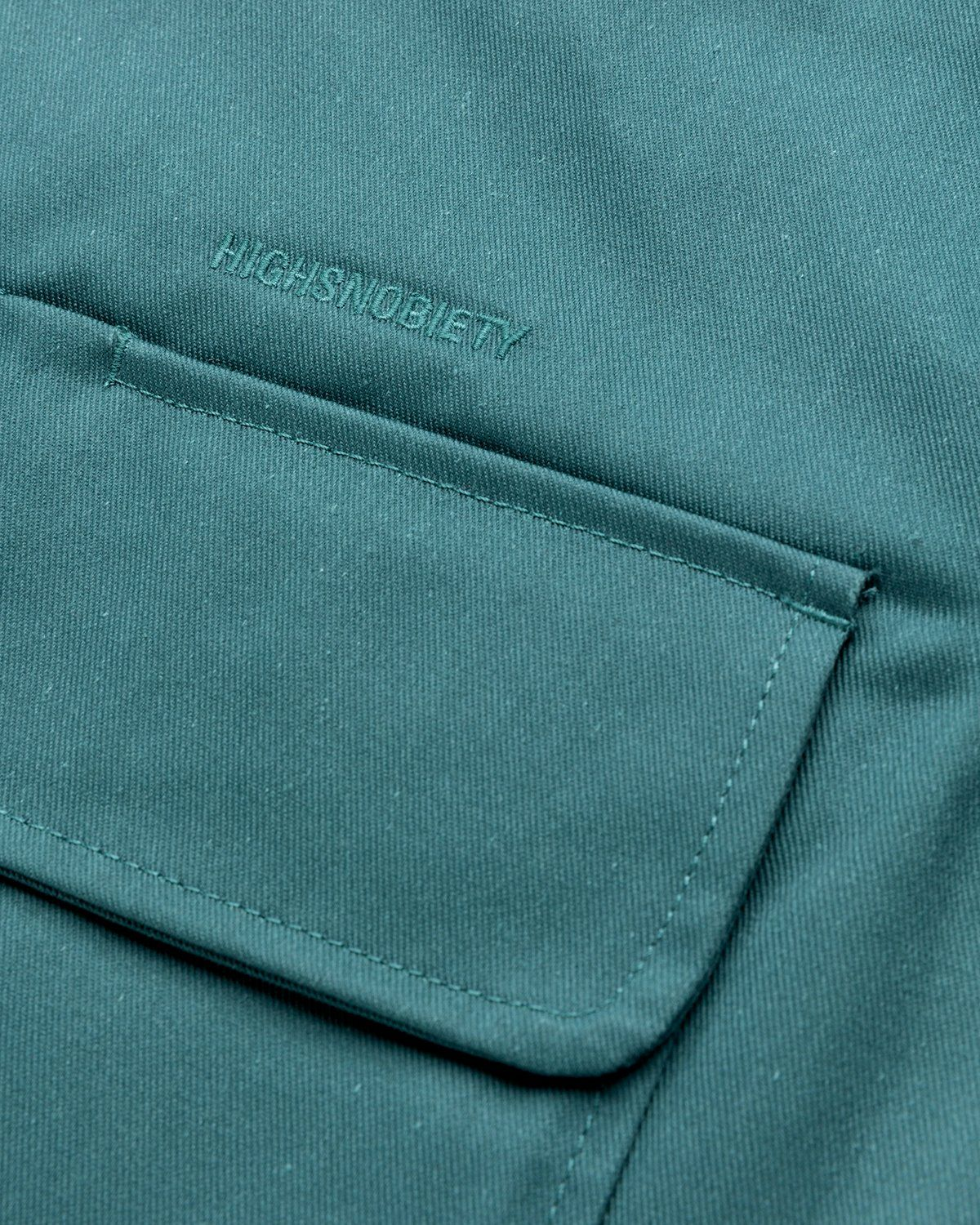 Highsnobiety x Dickies – Service Shirt Lincoln Green - Image 4