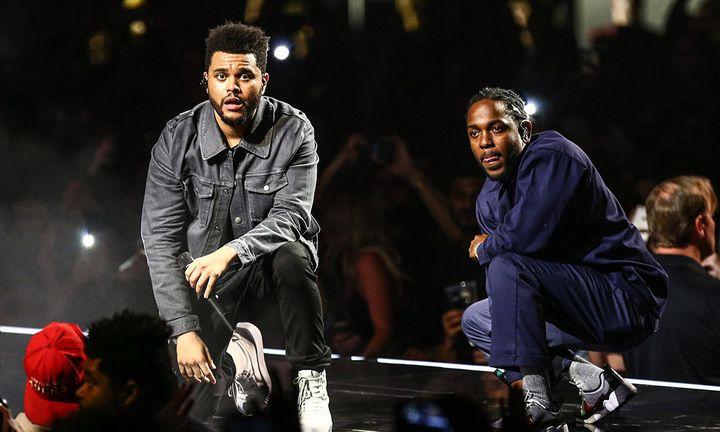 The Weeknd, Kendrick Lamar
