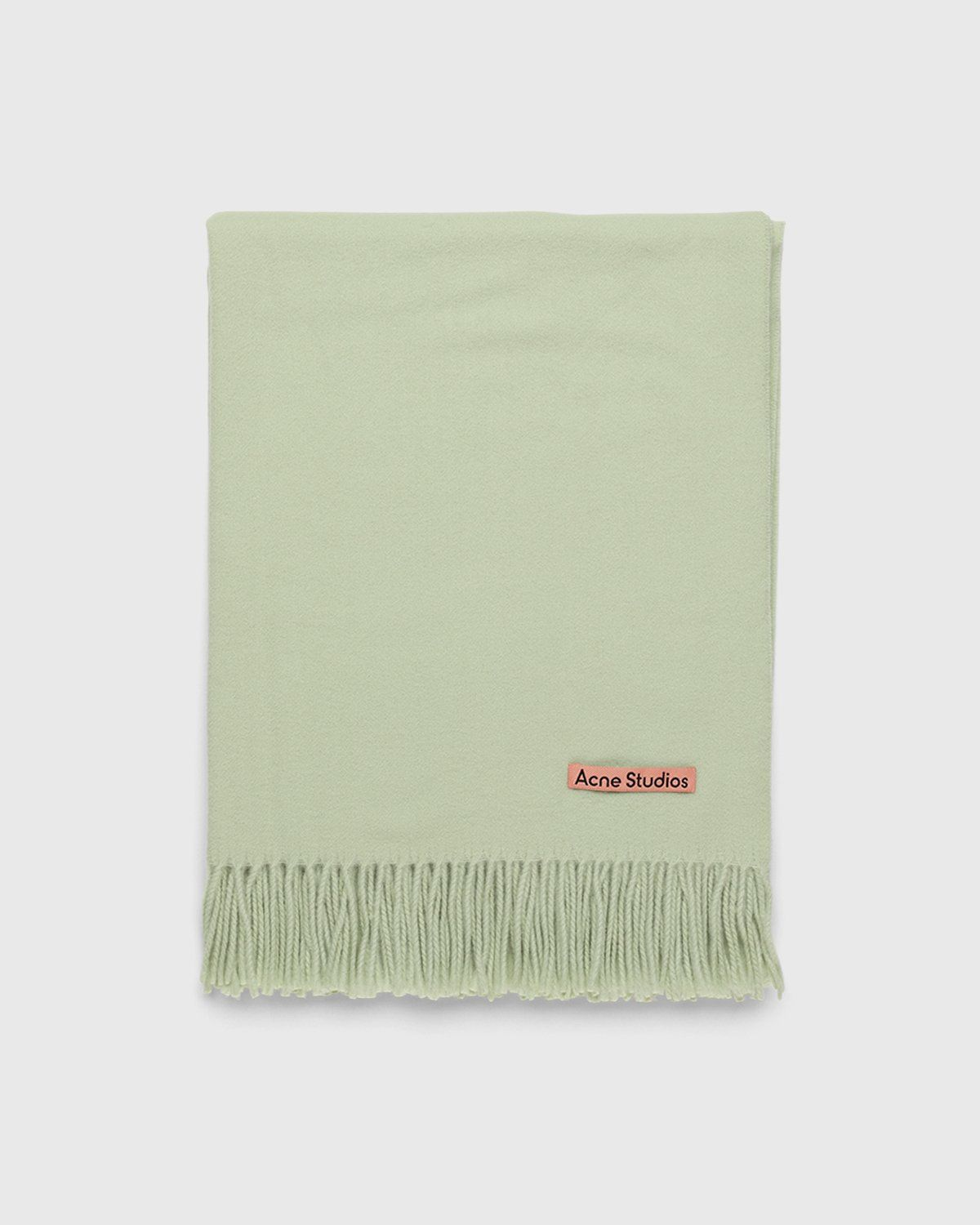 Acne Studios – Canada New Scarf Pale Green - Image 2