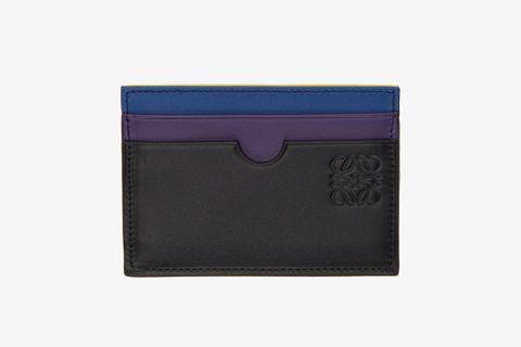 Rainbow Plain Card Holder