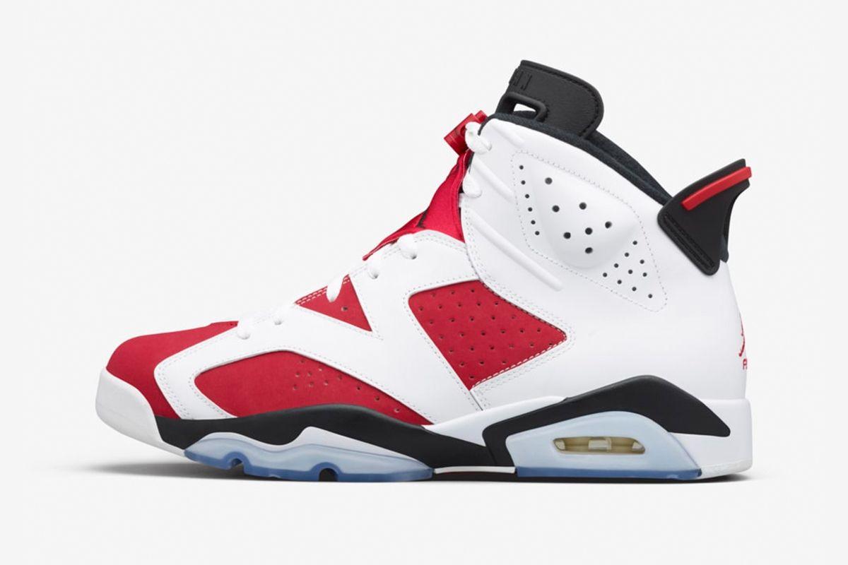 """Nike Officially Confirms the """"Carmine"""" Air Jordan 6 for February 3"""