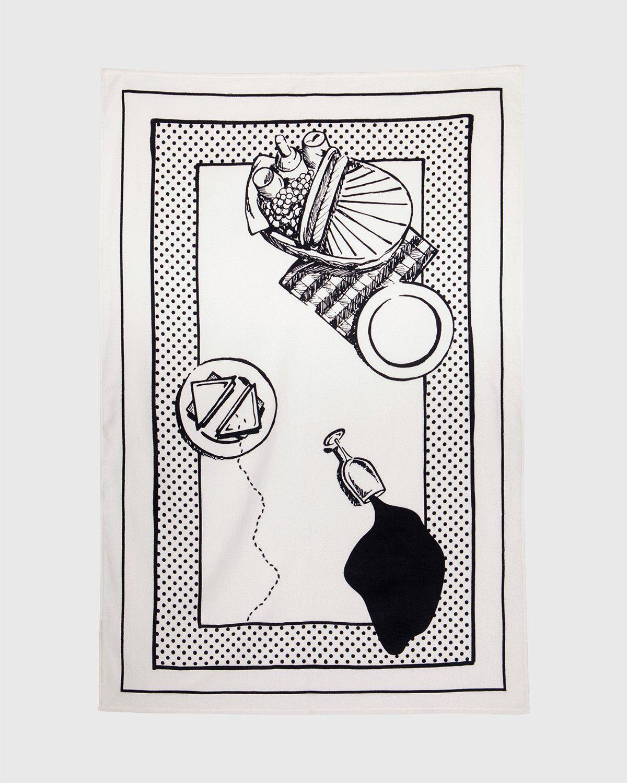 Havaianas x Reality to Idea by Joshuas Vides – Towel White - Image 1